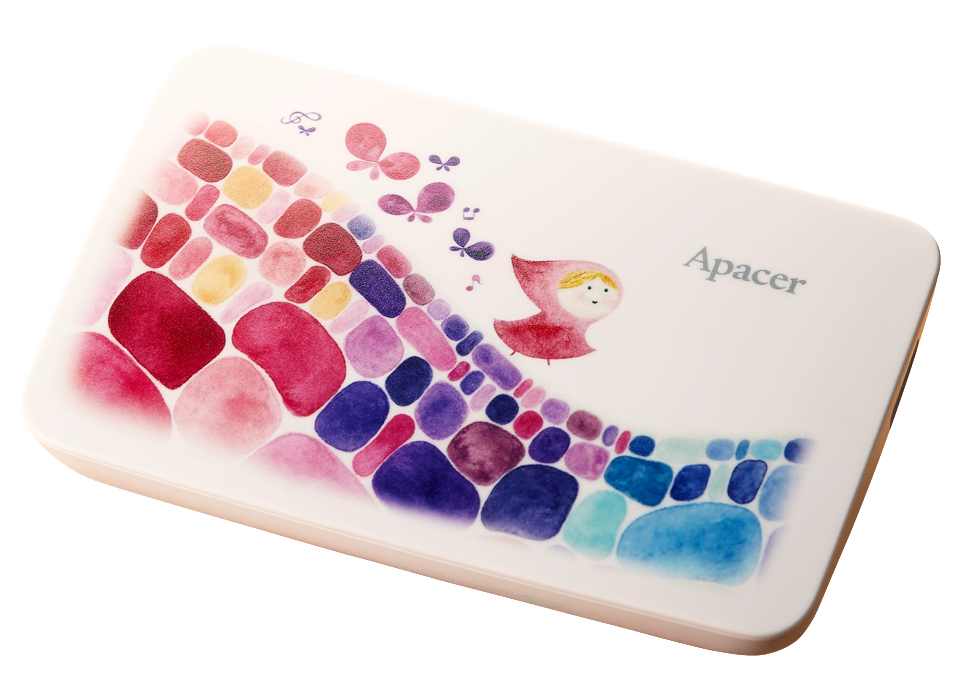 Apacer x Crystal <br> AC233  Portable Hard Drive