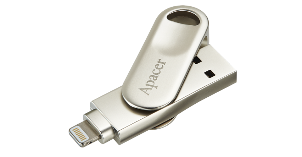 AH790 Lightning Swivel USB Flash Drive