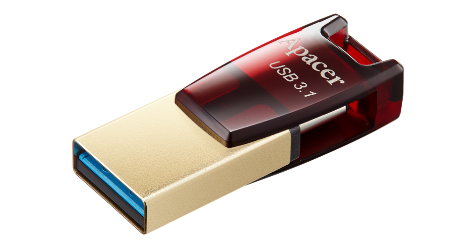 AH180 USB 3.1 Type-C Dual Flash Drive