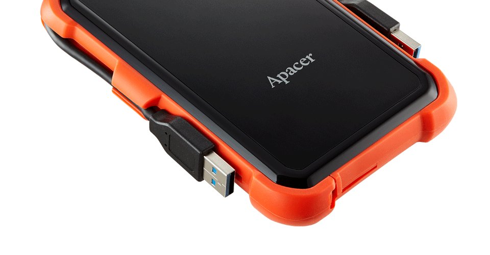 AC630 Military-Grade Shockproof Portable Hard Drive